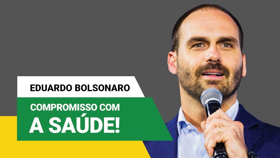 deputado-eduardo-bolsonaro-e-amigo-da-saude - Acao Comunicativa