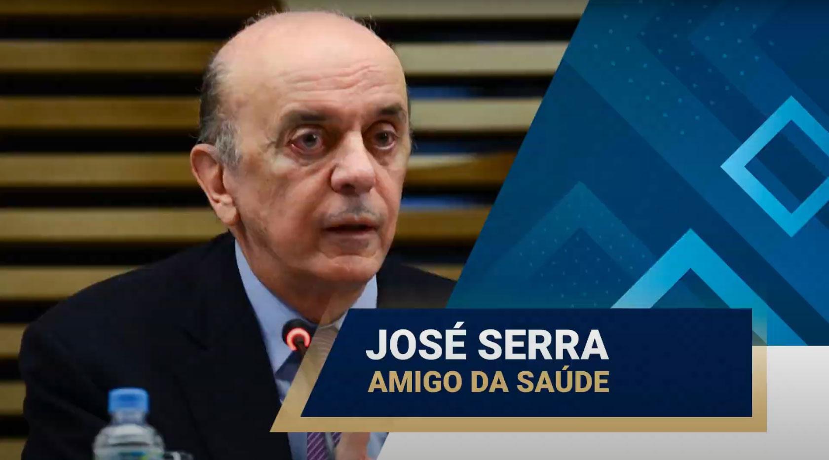 senador-jose-serra-e-amigo-da-saude - Acao Comunicativa